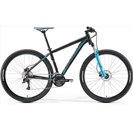 Велосипед Merida Big Nine 70 Matt Black/Blue/Grey (2017), интернет-магазин Sportcoast.ru