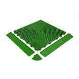 Бордюр для плитки HELEX  (зеленый)