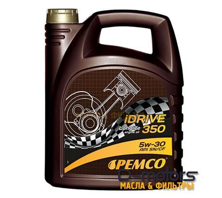Моторное мало Pemco Idrive 350 5w-30 (5л.)
