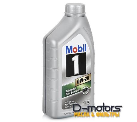 Моторное масло Mobil 1 0W-20 (1л.)