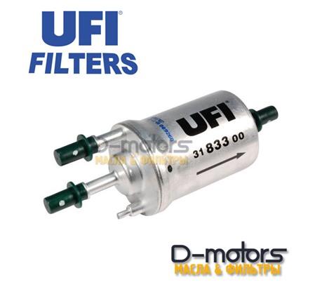 Фильтр Топливный Ufi 3183300 Для Vw Polo Седан, 1.6 (85, 105 Л.С.)