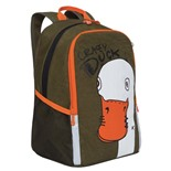 Рюкзак школьный ортопедический Grizly Crazy Duck 13,5 л RB-051-5/3 (229506)