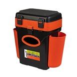 Ящик для зимней рыбалки Helios FishBox двухсекционный 10л оранжевый