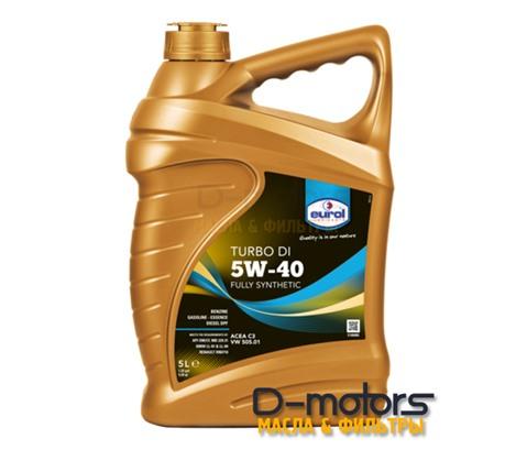 Моторное масло Eurol Turbo DI 5W-40 (5л.)