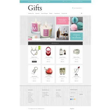 Gifts Template