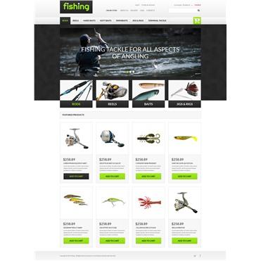 Varity of Fishing Equipment