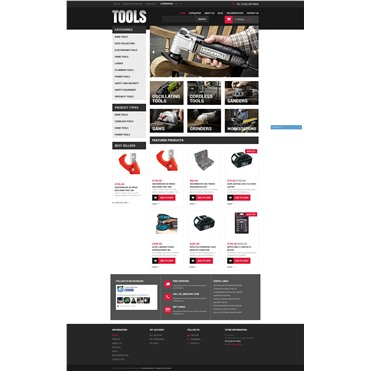 Tools & Equipment Template