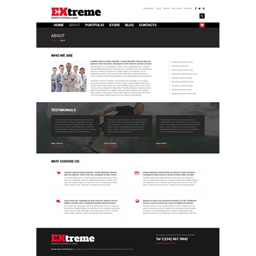 Extreme Sports Clothing  Gear
