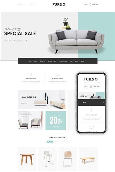 Furno - Furniture Store