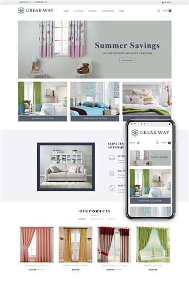 Greak Way - Curtains Store