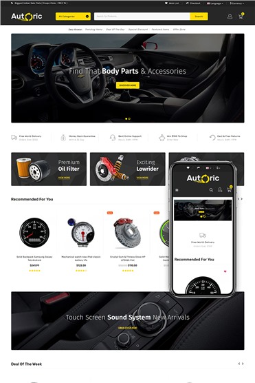 Autoric - Spare Parts Store