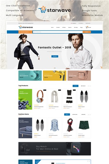 Starwave - Multipurpose Store