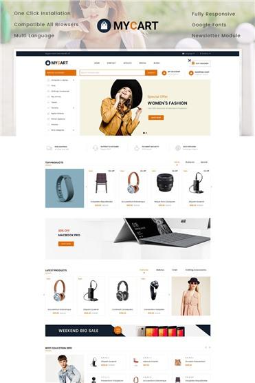 MyCart - Multipurpose Store