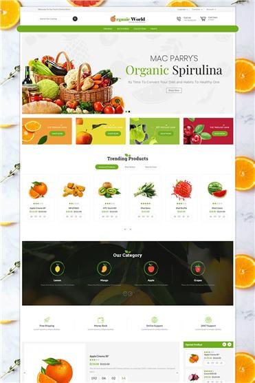Organic World Responsive
