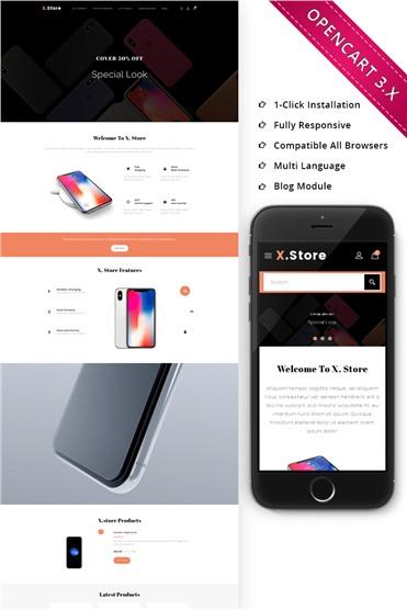 Xstore Mobile - Responsive