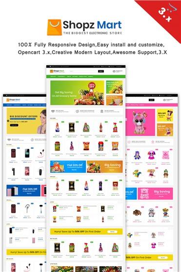 Shopz-Mart  3.x Responsive