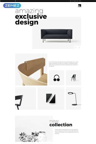 Furniture Store Minimalistic