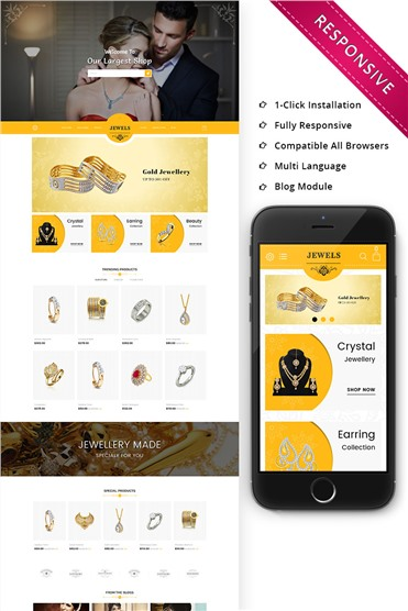 Jewels - Responsive Premium