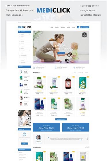 Medi Click - Drugs Store