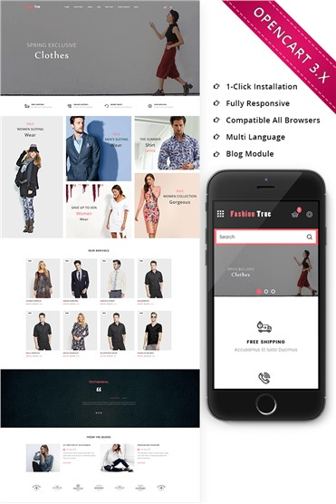 Fashion True Store Responsive