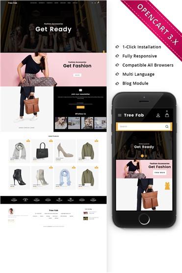 Treefab - Fashion Store Responsive