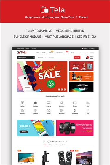 Tela - Multipurpose eCommerce