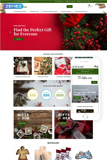 Gifts.com - Christmas Presents Shop