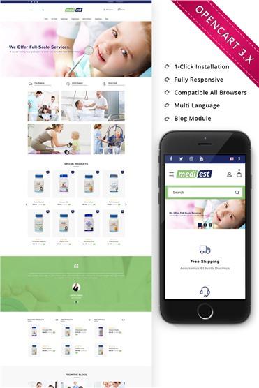 Medifest - Medical Shop Responsive