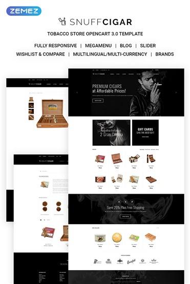 SnuffCigar - Elegant Cigar Online Shop