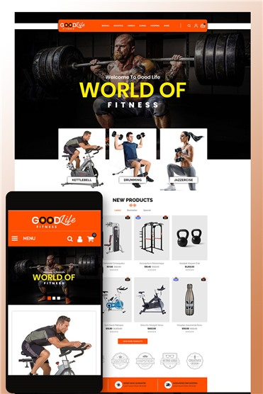 GoodLife Fitness - Online Store