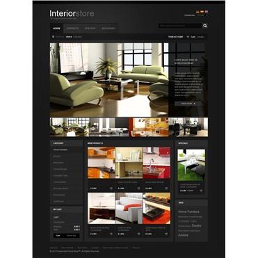 Black Interior Website