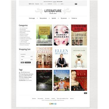 Literature Book Store