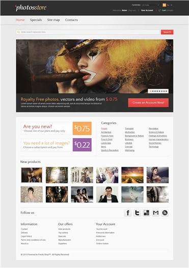 Photos Store