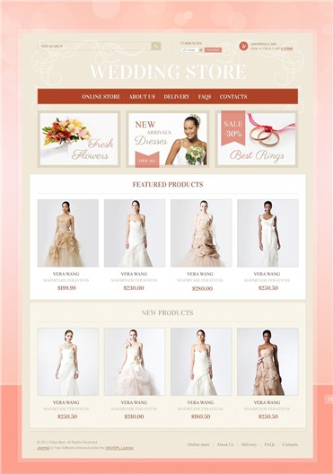 Wedding Finery & Accessories