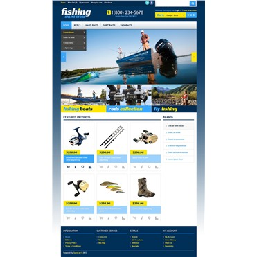Online Fishing Store