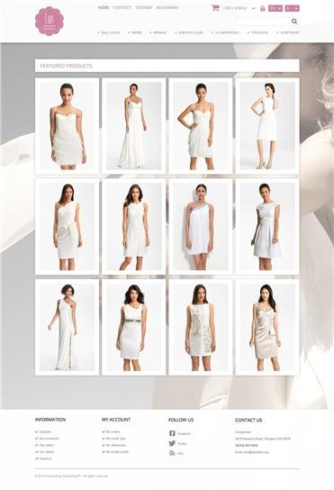 Responsive Wedding Dresses Store