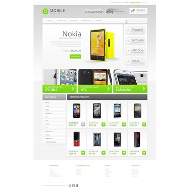 Online Mobile Store