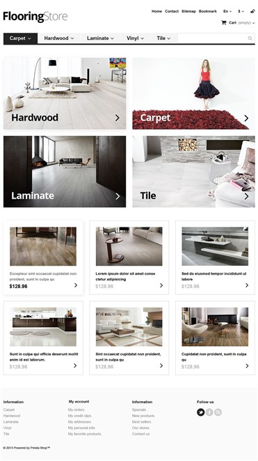 Responsive Flooring Store
