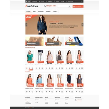 Responsive Fashion Store