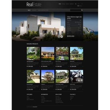 Responsive Real Estate Store