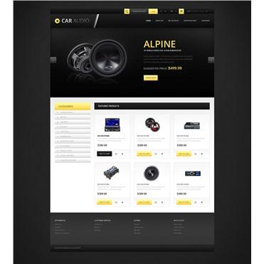 Responsive Car Audio Store
