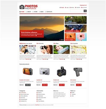 Responsive Photo & Video Store