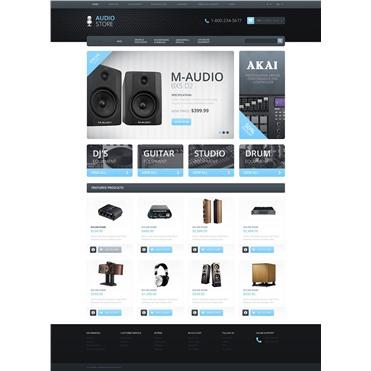 Responsive Audio Store