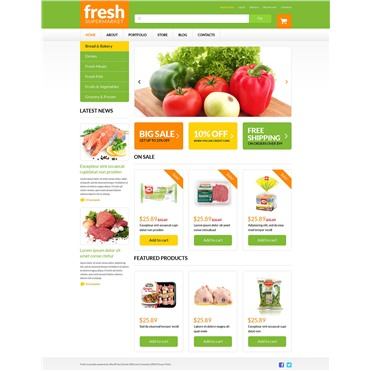Grocery Web Shop