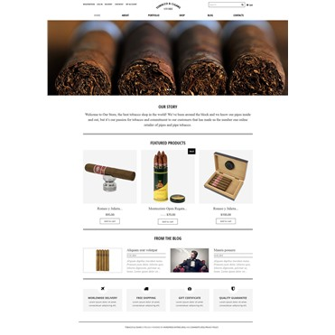 Tobacco Cigars Store