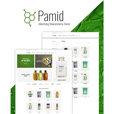 Pamid - Drug Store Responsive WooCommerce Theme