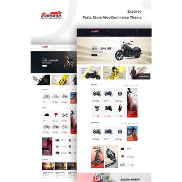 Exporso - Bike Parts Store