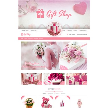 Giftshop - For Gift, Flower, Toy and Accessories stores