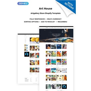 Art House - Art Gallery