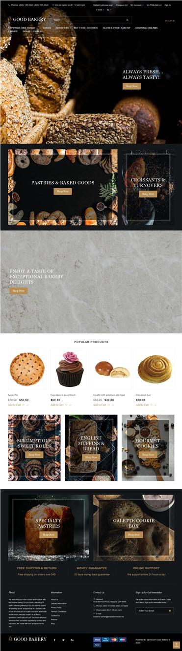 Good Bakery - Baking Shop Modern
